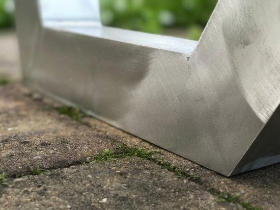Aluminium frame zonder lasnaden