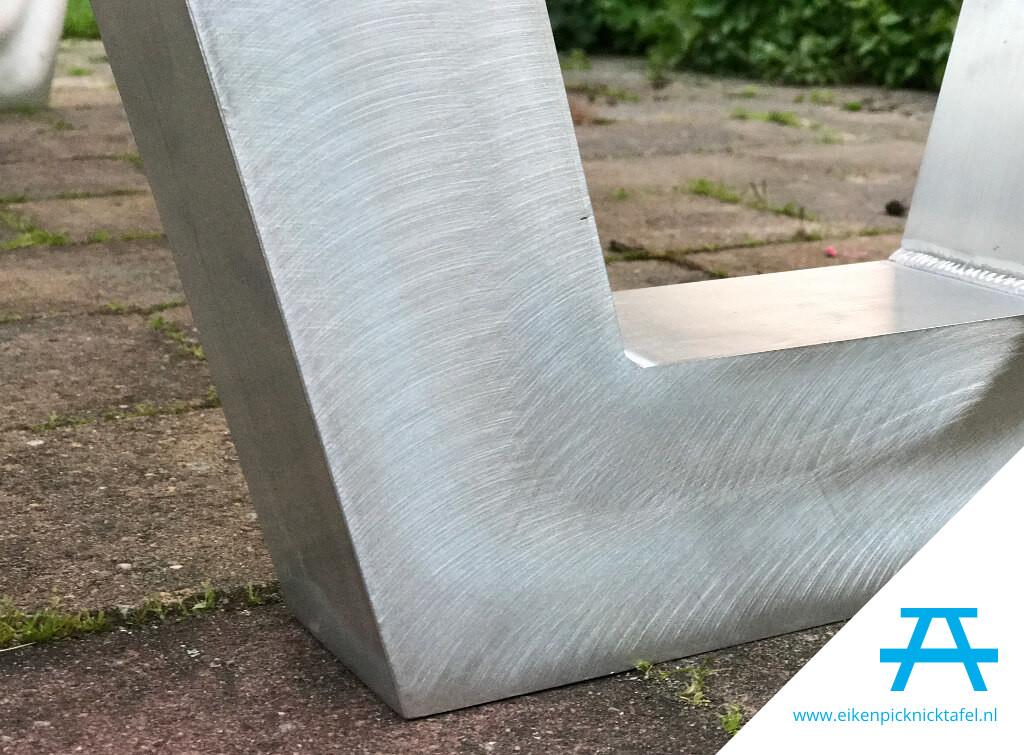 Picknick Tafel Aluminium.Picknicktafel Met Aluminium Frame Kopen Handgemaakt